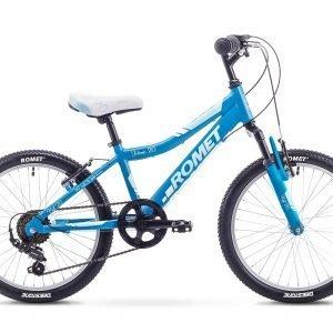 Romet Jolene Kid 20'' 6-Vaihteinen Lasten Polkupyörä Sininen Valkoinen