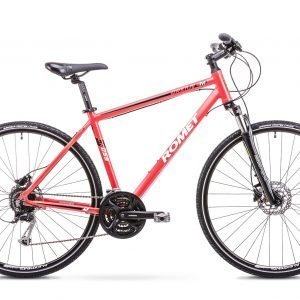 Romet Orkan 4 M 28'' 27-Vaihteinen Hybridipyörä Punainen