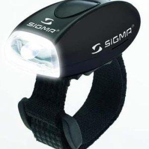 Sigma Mikro huomiovalo musta