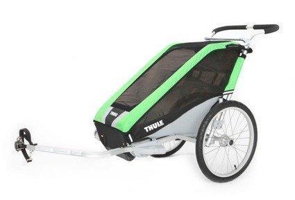 Thule Chariot Cheetah 1 (yhdelle lapselle) + pyöräilypaketti