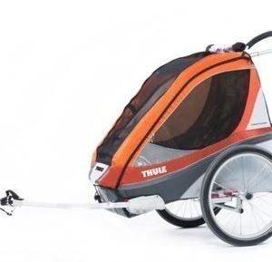 Thule Chariot Corsaire 1 pyöräkärry yhdelle lapselle +pyöräilypaketti