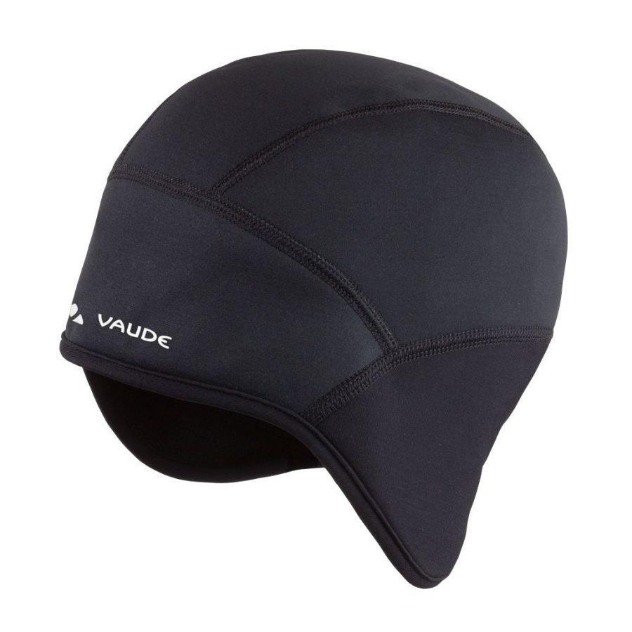 Vaude Bike windproof cap III pyöräily- ja tuulensuojapipo musta