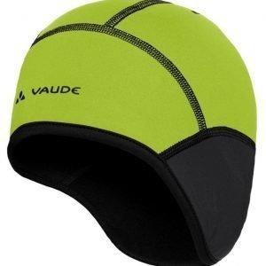 Vaude Bike windproof cap III pyöräily- ja tuulensuojapipo musta/pistaasi