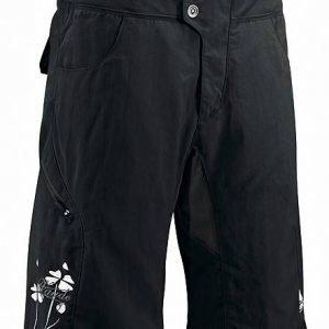 Vaude Women's Ride Pants Pyöräilyshortsit Musta