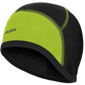 Vaude bike cap pyöräilypipo musta/pistaasi