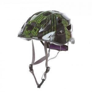 Wrsport Bicycle Helmet Jr Pyöräilykypärä Musta / Vihreä