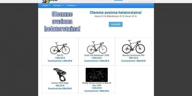 Cycle Center Finland Oy Ltd