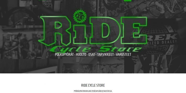 Ride Cycle Store Oy
